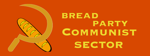Logo for the Bread Party Communist Sector by MyLittleTripod