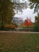 French Park in Autumn by violets-are-red