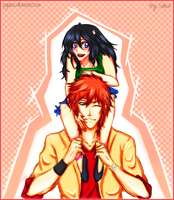 Ichiruki - Long Hair ! by xRyuusei