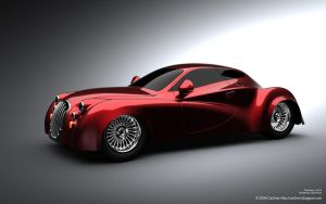 Existentia Concept Car. View 2 by car2ner