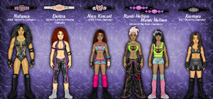MyWWE: Women's Champs Jan. 2015 by TerenceTheTerrible