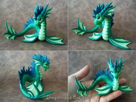 Sculptober : Aquatic by DragonsAndBeasties