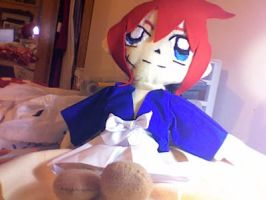 first plush- kenshin by rara-san