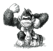 DK by Monkeytaillo