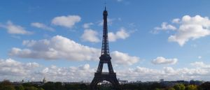 Tour Eiffel by Telekinesy