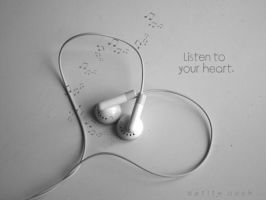 listen to your heart by Ptiteouch