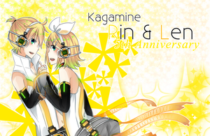 .:Happy Anniversary Rin Len:. by Haru-run