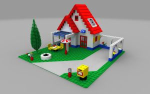 LEGO Holiday Home by zpaolo