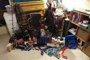 This is why I need MY OWN TACK ROOM T.T by ShapeShifter314
