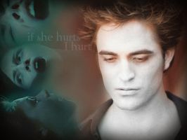 Breaking Dawn Hurt Wallpaper by TheSearchingEyes