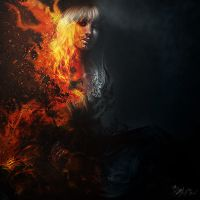 Art on fire by btcaloiro