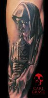 Statue tattoo 2 by hatefulss