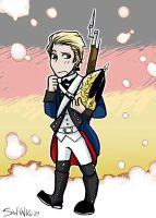 Germany Revolutionary war by sw