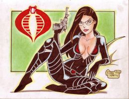 'Cartoon' Baroness (#2) by Rodel Martin by VMIFerrari