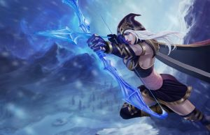 Ashe League of Legends by 9gagerr