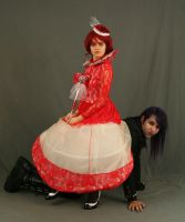 The Red Queen and the Mad Hatter 7 by MajesticStock
