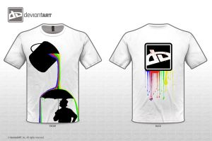 T-Shirt - Painters Delight by CitizenXCreation