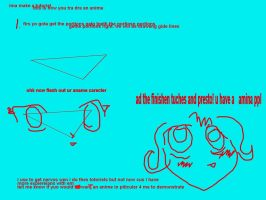 how to draw a aname by Krikonn