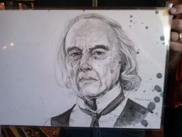 Phantasm Angus Scrimm by SuzanneMoseley