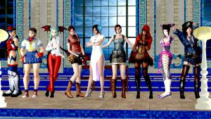 My favorite Capcom girls of all time!! by aNtHoNyMidNigHt91