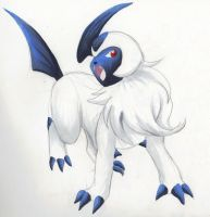 Absol by Kainaa
