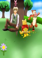 Arthur And Pooh Bear by ZzZNelliezZz