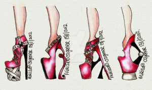 Crazy Heels by AlirizaDesign