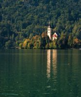 Bled, Slovenia by psdlights