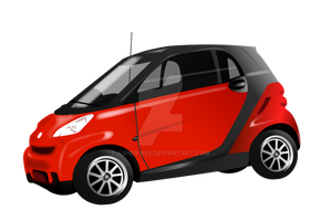 The Smart Candy Car by Asher-Bee