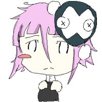 pixel scribble: Crona. by WrenAgain