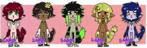 -- Furry Adoptables -- OPEN! by Lawliet-Adoptables