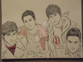 'And we're, Big Time Rush.' by Drivin-Impala