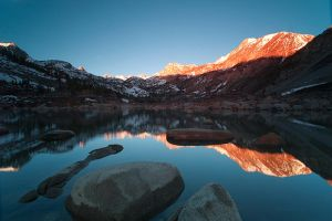 the Mirror Lake by Photographertech