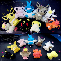Bug Eyed Pokemon set 3 DA by xBrittneyJane
