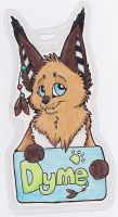 Dyme Badge by Dragowl
