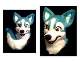 Husky Fursuit [Sold] by NightFell