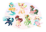 MLP Adoptable Auction ~ Various (CLOSED!) by tsurime