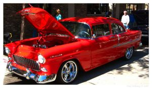 1955 Chevy 210 by Car-Crazy