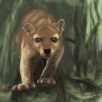 Fossa - Eila and Sher by catfuret