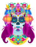 Day of the Dead by dreamwolvie