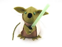Yoda Mouse by The-House-of-Mouse