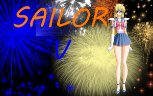 Sailor V Wallpaper by Supremechaos918