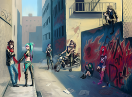 Gang by Kutty-Sark