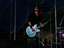 Dave Grohl - Western Springs NZ by ChloeRockChick14