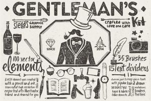 Gentleman's Graphic Kit by sandracz