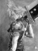 Cloud Strife by MaxMcDuck