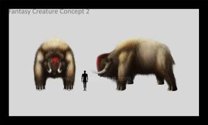 Fantasy Creature Concept 2 by palp