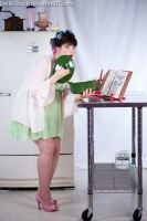 Maternity Pin Up Cooking.2 by Della-Stock