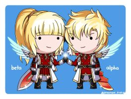 Maplestory Zero/Child of God: Alpha and Beta by Refinition