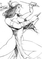 Elektra What not to do by Fladam